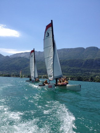 catamarans club lac annecy