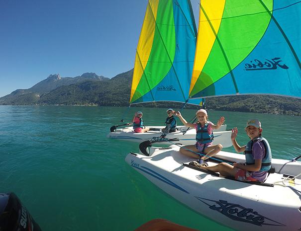 hobbie bravo club nautique doussard lac d'annecy