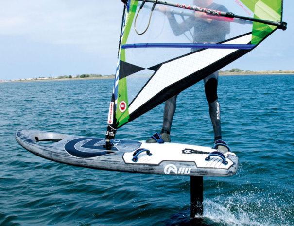 foil windsurf doussard