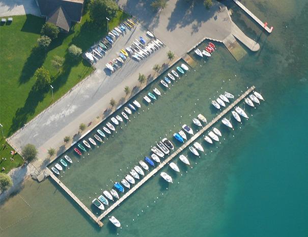 Port a flot Doussard lac d'annecy